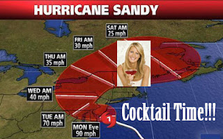 Hurricane Sandy Sandra Lee Cocktail TIme