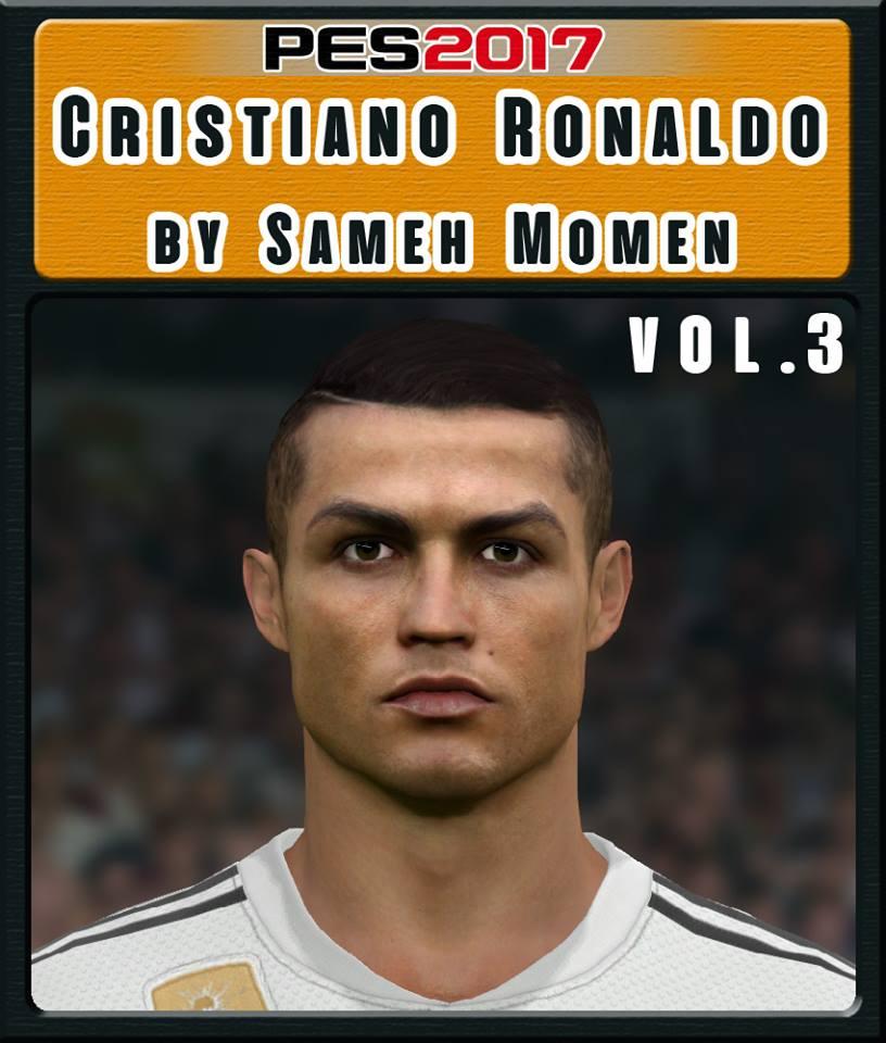 PES 2017 C. Ronaldo Face by Sameh Momen