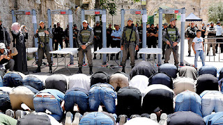Jerusalém após ataque a policiais tem segurança reforçada