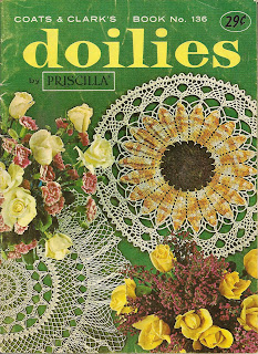 Doilies Crochet Pattern Book No 136 from Coats Clarks