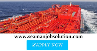 seaman job Chief Cook For Tanker Ship