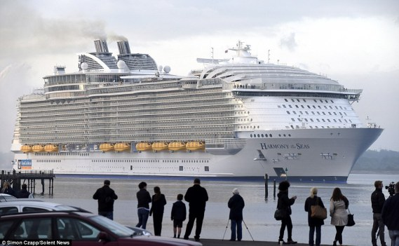 picture of  The largest cruise ship in the world