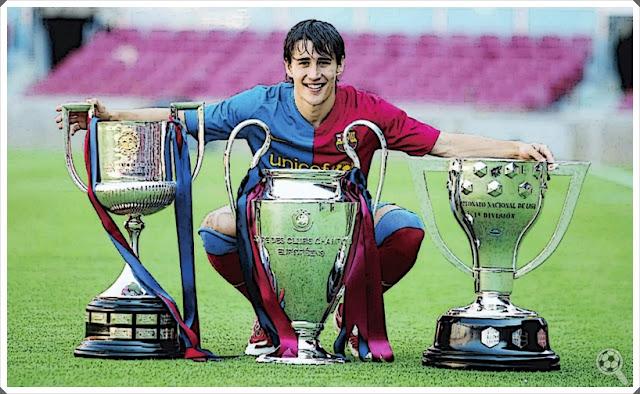 Bojan Krkic Barcelona Trophies