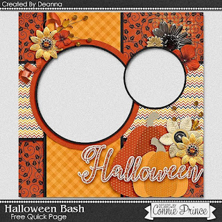 Guest Creative Team (September), Annemarie, for Connie Prince ? Halloween Bash, Color Challenge and Freebie QP