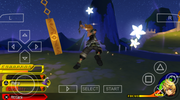 download game ppsspp kingdom hearts cso