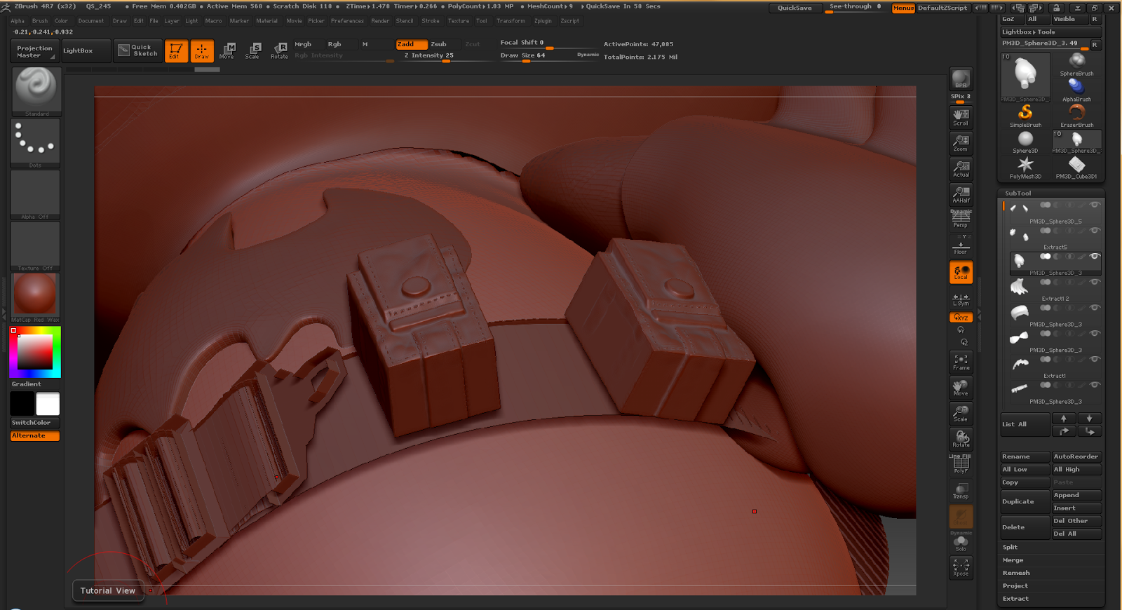 Aprendiendo A Usar Zbrush The Awesome World