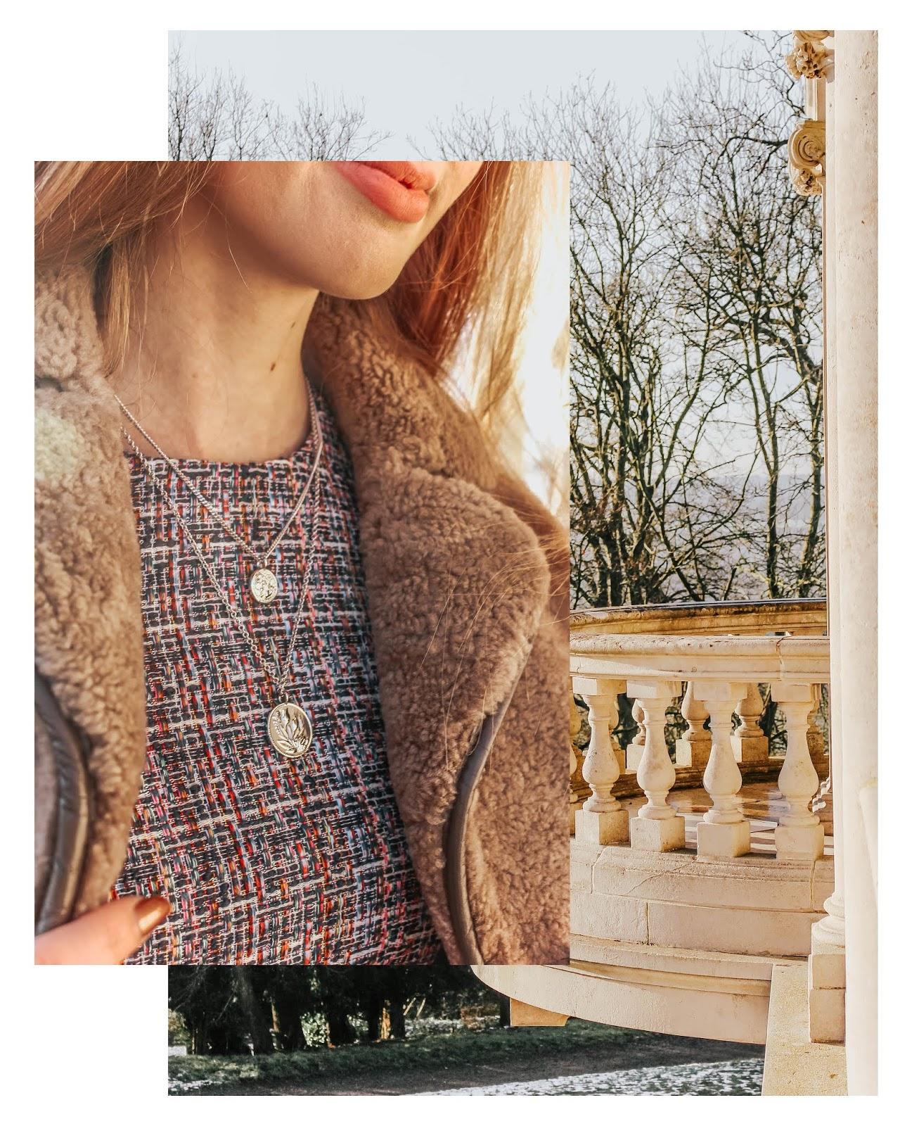 karen millen silver layered necklace blog