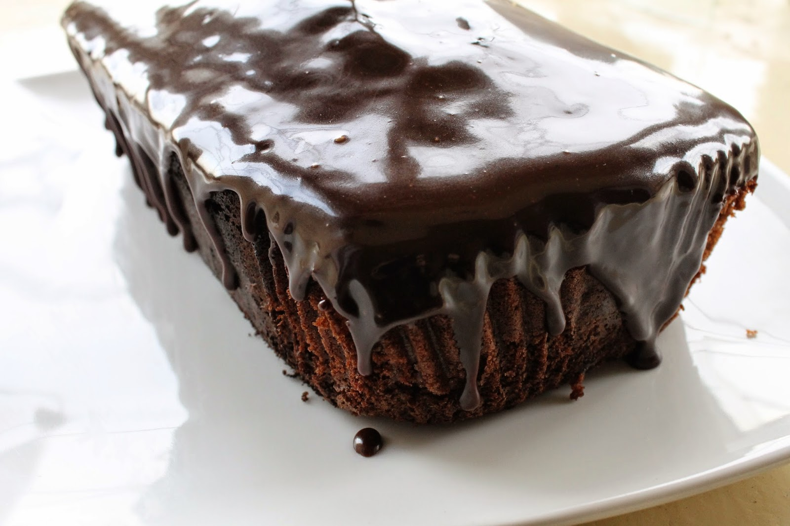 Chocolate Sponge Cake Loaf Tin