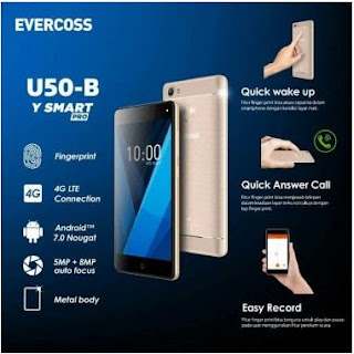 Evercoss Winner Y Smart Pro U50B