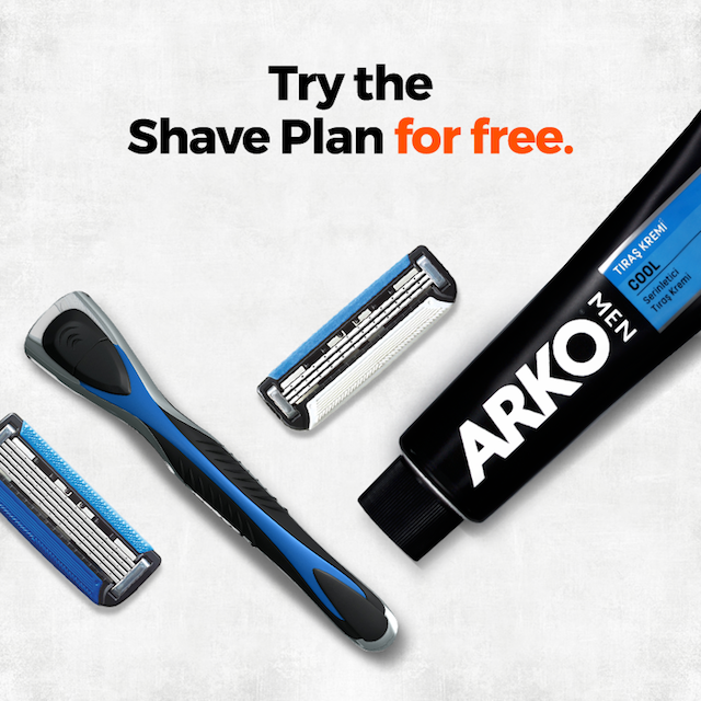 Try the shave plan for FREE!