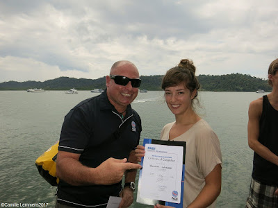 Testimonial by Kristina Wagner of the October 2017 PADI IDC in Khao Lak, Thailand