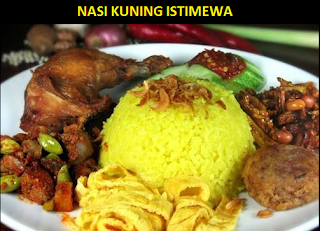 Resep Nasi Kuning dan cara Membuatnya