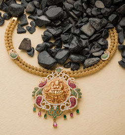 Swarna Mahal Jewellers Gold Necklace Designs