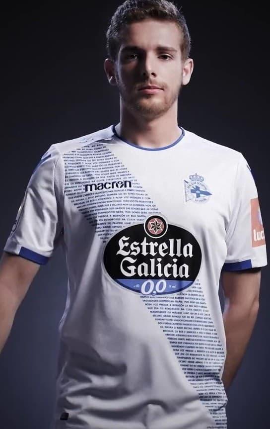 デポルティーボ・ラ・コルーニャ 2018-19 ユニフォーム-サード