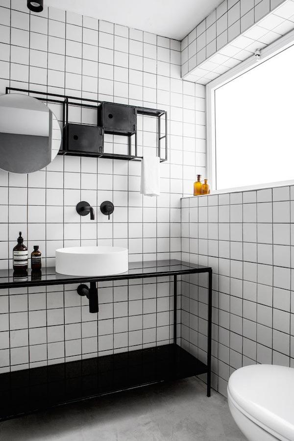 A Minimalistic Bathroom In Tel Aviv Apartment