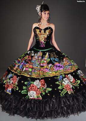 95 Vestidos De Xv Años Charros Largos Cortos Y En