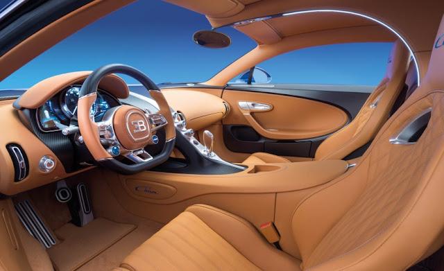 Bugatti Chiron Cockpit