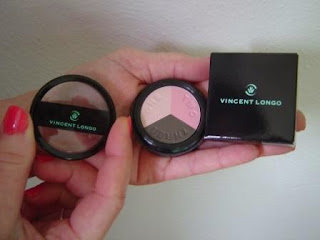 Vincent Longo Trio Eye Shadow Compact