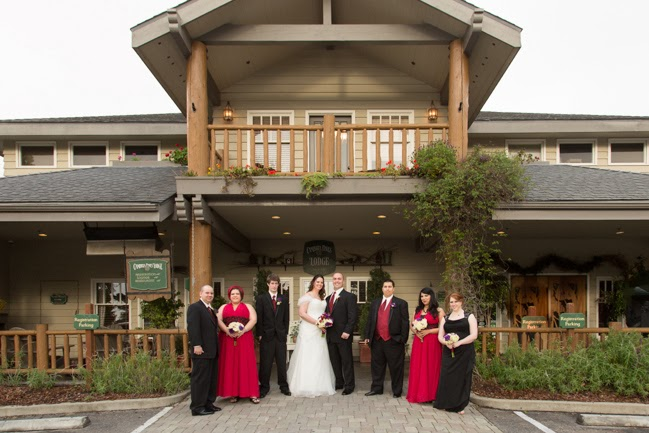 Studio101West Cambria Pines Lodge Wedding Photographer
