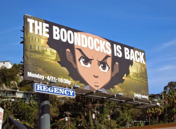 The Boondocks is back final season 4 billboard