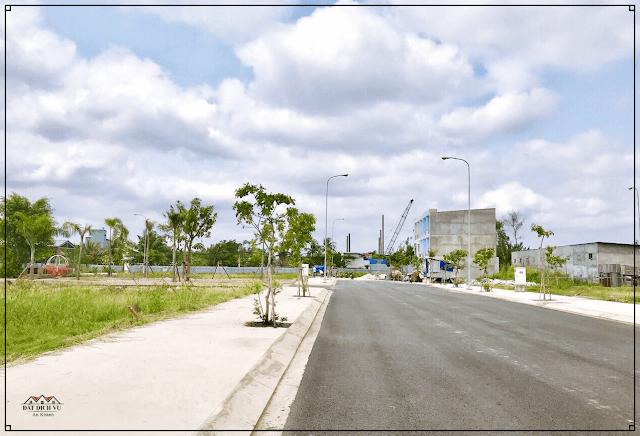 Cảnh quan khu vực xung quanh đất dịch vụ An Khánh