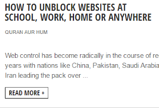 How to Unblock Websites at School, Work, Home or Anywhere how to