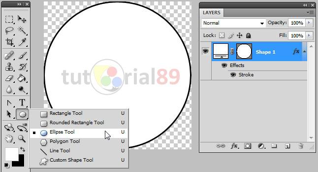 Cara membuat stempel berbentuk lingkaran dengan photoshop