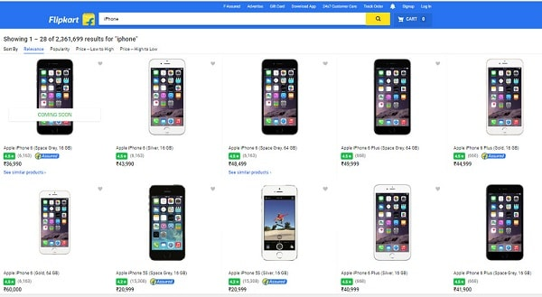 Buy iPhone online at Flipkart