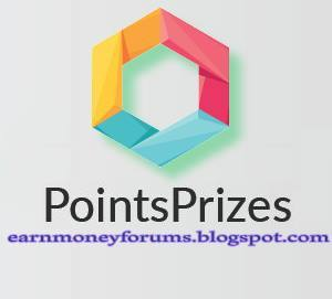 earn money online point prizes
