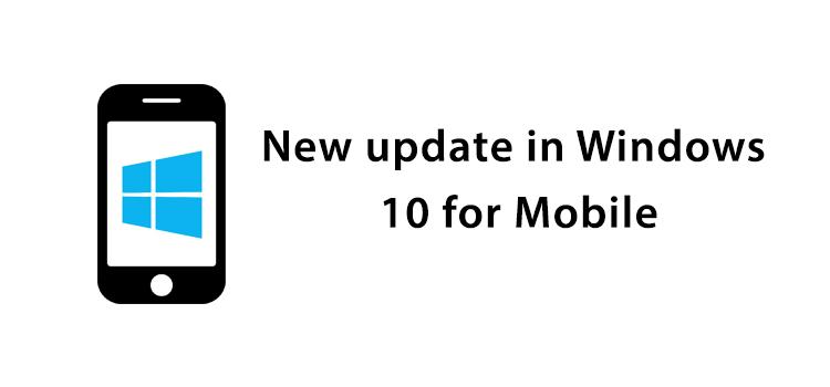 New Update on Windows