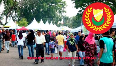 Senarai Bazar Ramadhan Kedah 2019 (Lokasi)