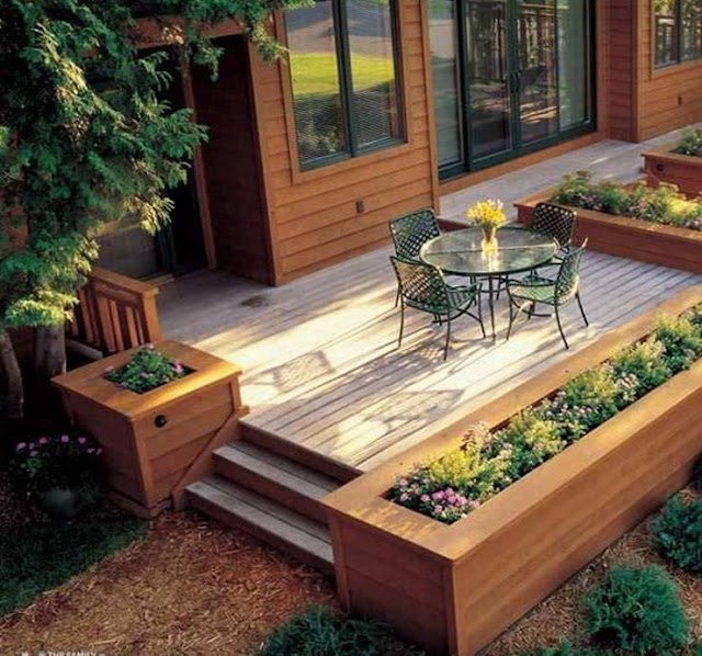 Built In Planter Ideas: Clever DIY Built In Planter Projects Ideas