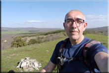 Rodio - Los Cotorricos mendiaren gailurra 899 m. - 2018ko apirilaren 20an