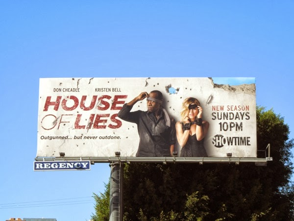 House of Lies series 3 billboard