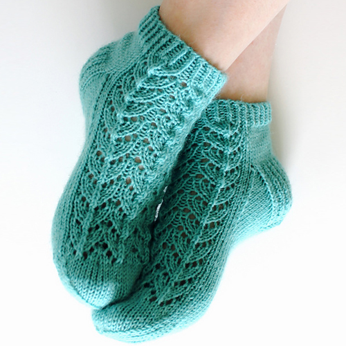 Midsummer Socks - Free Pattern