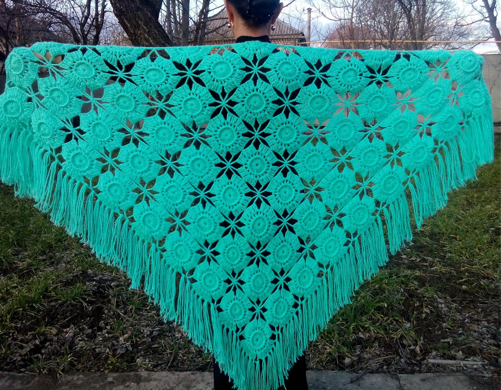 Charming crochet stoles 13