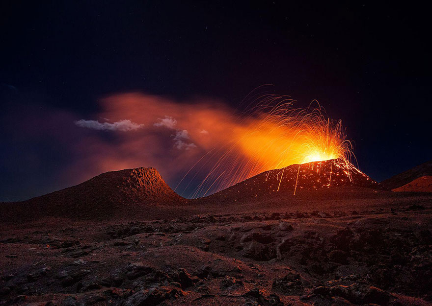 These Are The 35 Best Pictures Of 2016 National Geographic Traveler Photo Contest - La Fournaise Volcano, Réunion Island