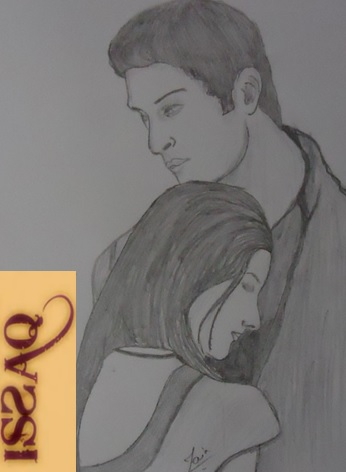 Pencil Sketches & Painting : Romantic Couples Sketches