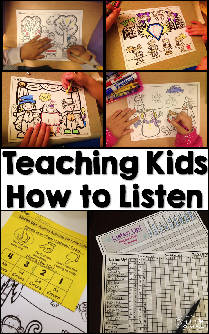 Teaching Our Young Learners How To Listen Is A True Teaching Passion For  Us. For Years, We Have Felt That For Whatever Reason, Our Students Have  Become More ...