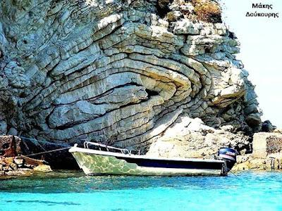 Slump Folds at Antipaxos Island in Greece