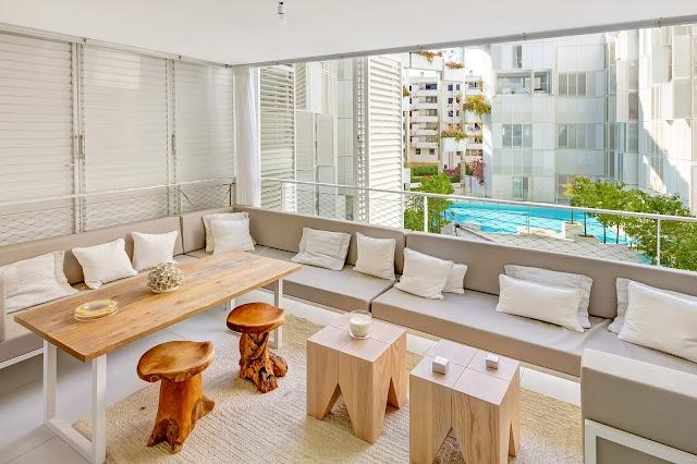 Un apartamento en Ibiza con estilo