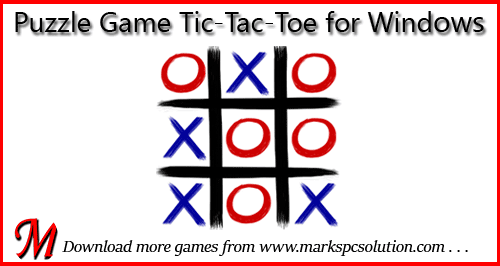 Puzzle Game Tic Tac Toe