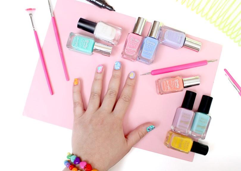 90s nail art designs