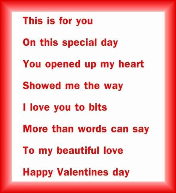 Romantic Valentine Poems For Her | Valentine Jinni