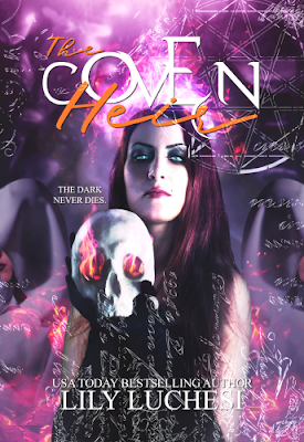 Front cover image of THE COVEN HEIR by Lily Luchesi. Link to THE COVEN HEIR on Goodreads.