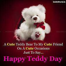 Teddy Day Quotes in English