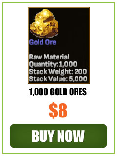 Selling 1000 Gold Ores In Shroud of the Avatar!