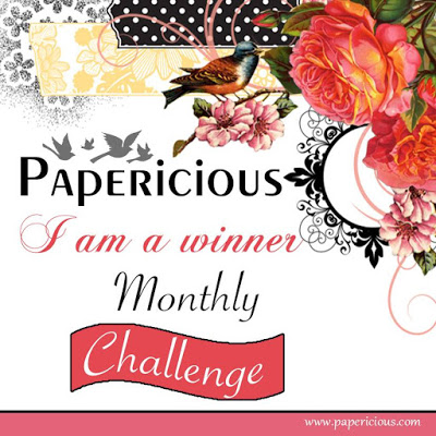 Winner @ Papericious Monthly Challenge Dec'16
