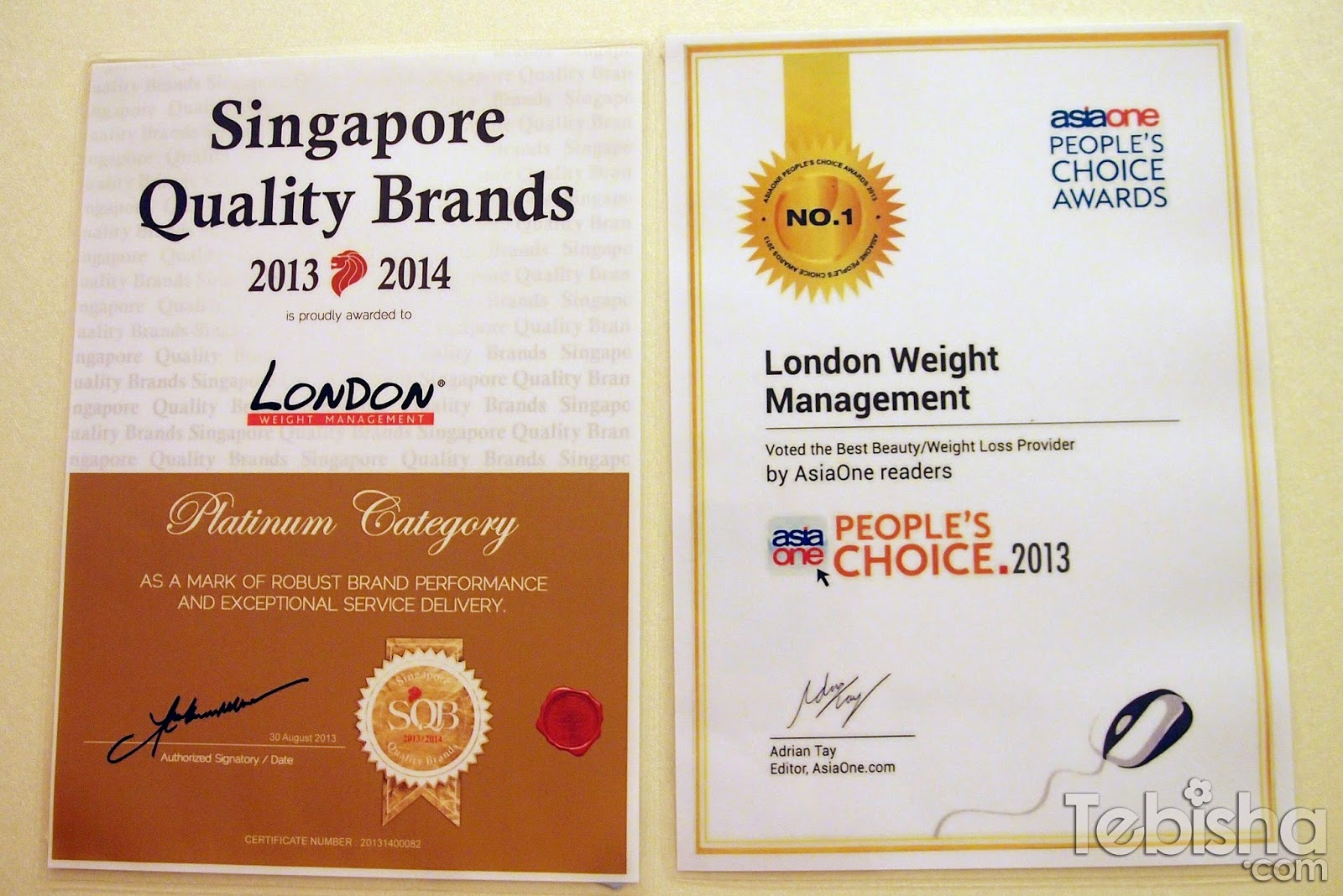 Advertorial Review London Weight Management Lavender Slimming