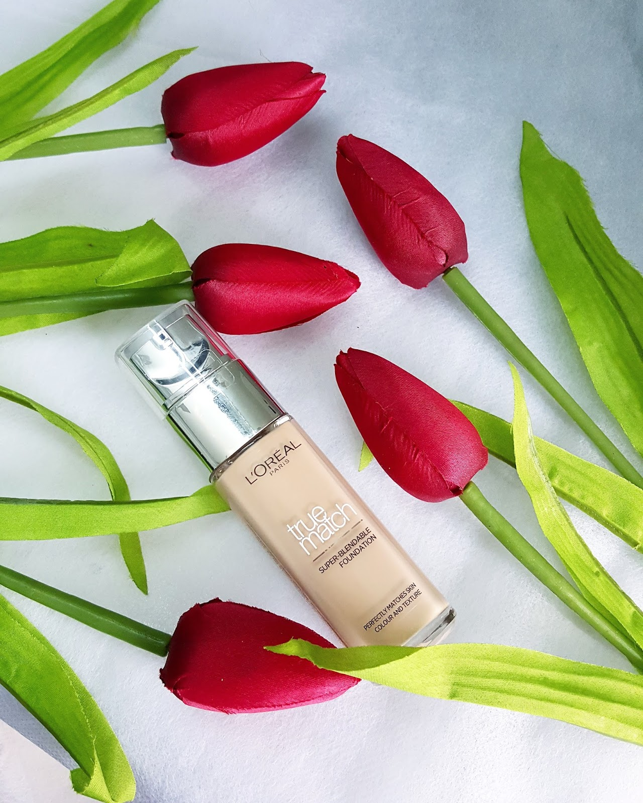 NEW L'OREAL TRUE MATCH SUPER BLENDABLE FOUNDATION REVIEW